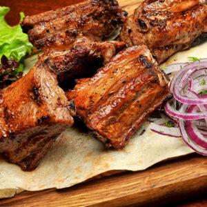 Шашлык из свинины (рёбрышки)